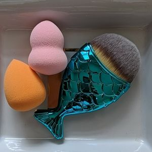 Foundation Brush/Sponge Set
